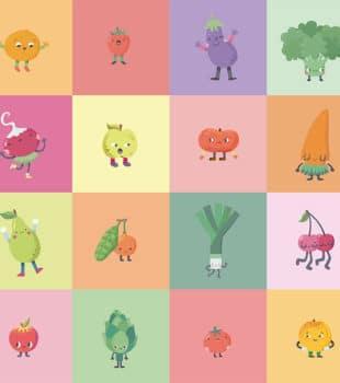Importancia del consumo de frutas y verduras