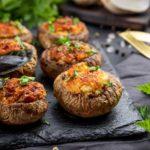 Champiñones rellenos de atún (receta ligera y saludable)