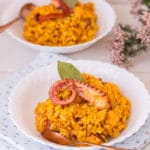 Arroz meloso con pulpo (receta TOP)