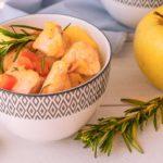 Estofado de pavo con patatas (receta fácil y ligera)