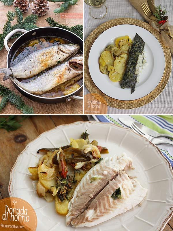 Recetas de pescado al horno
