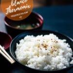 Cómo hacer arroz blanco Thermomix