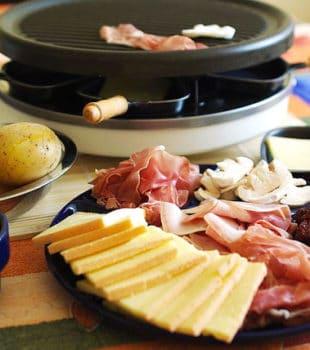 Raclette recetas