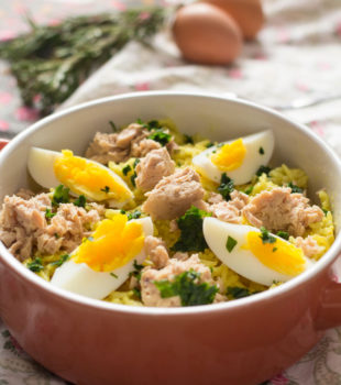 Receta kedgeree