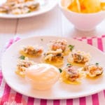 Cómo hacer tempura de mejillones en escabeche con patatas chips