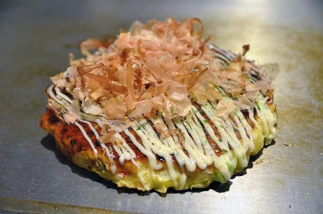 Receta de okonomiyaki