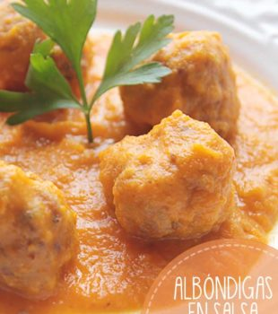 albondigas en salsa receta