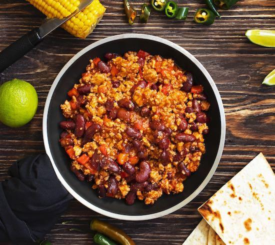 Chimichangas mexicanas receta
