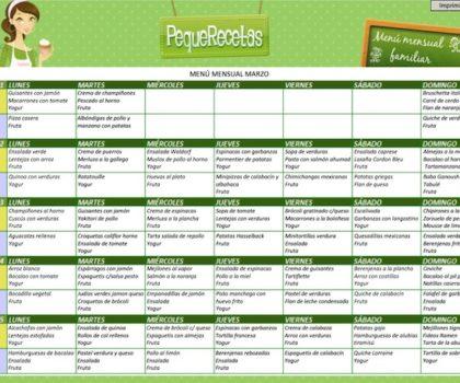 plan de alimentación semanal saludable