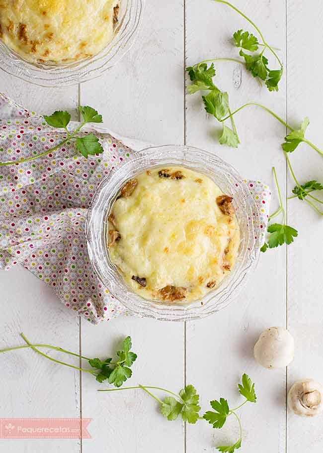 pastel de atun con puré de patatas y queso