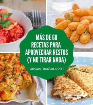recetas para aprovechar restos de comida