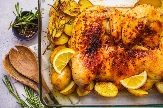recetas con restos de pollo asado