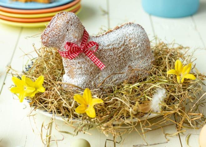 Cordero de Pascua dulce