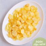 Cómo freír patatas chips en casa (muy crujientes)
