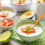 Gazpacho de aguacate [receta fácil y saludable]