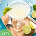 como hacer margarita coctel