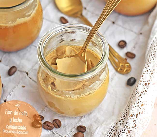 flan de cafe thermomix receta