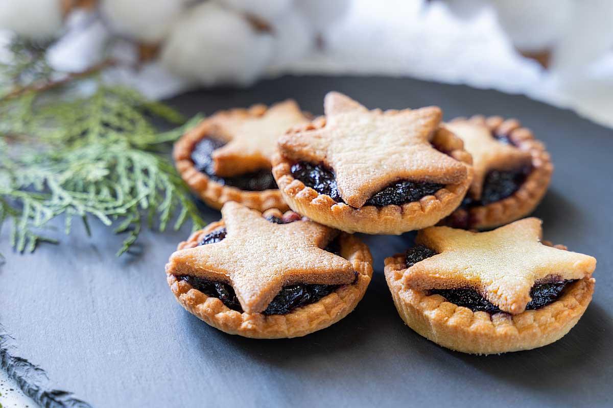 mince pies recetas de navidad