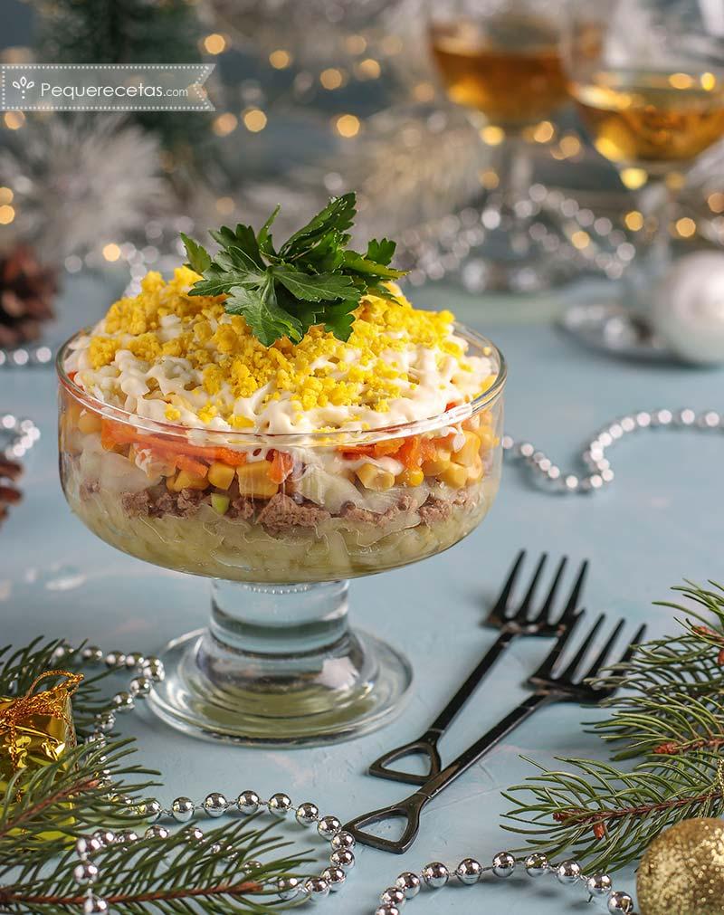 ensaladas de Navidad gourmet para sorprender