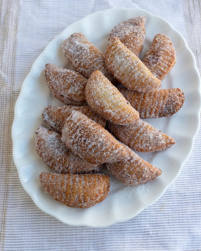Borrachuelos malagueños receta
