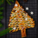 Árbol de Navidad de hojaldre (receta dulce o salada)