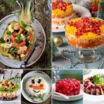 15 ensaladas navideñas (recetas de ensaladas para sorprender en Navidad)
