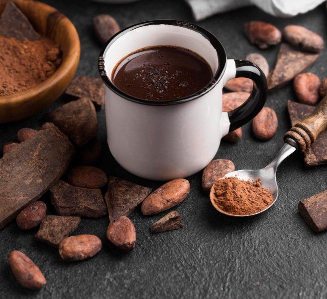 Chocolate a la taza casero