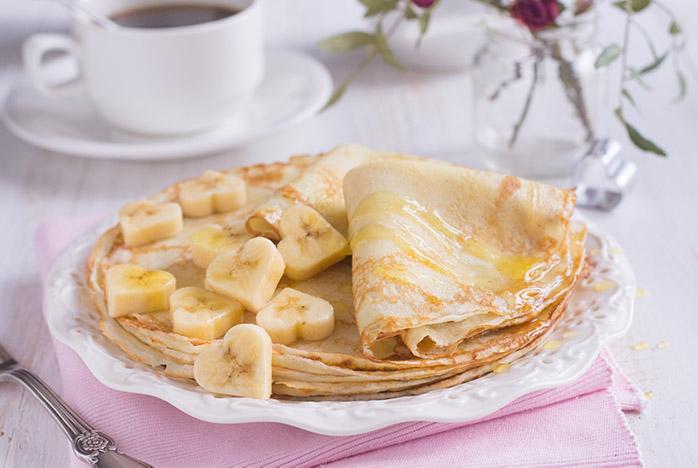 Receta desayuno para San Valentín