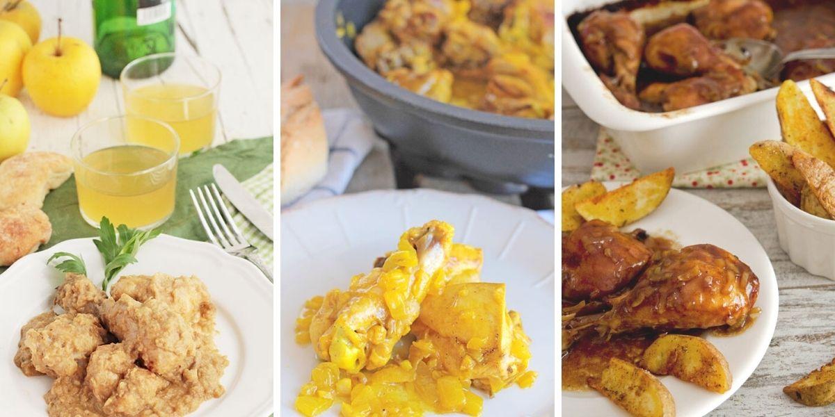 recetas de pollo con salsa