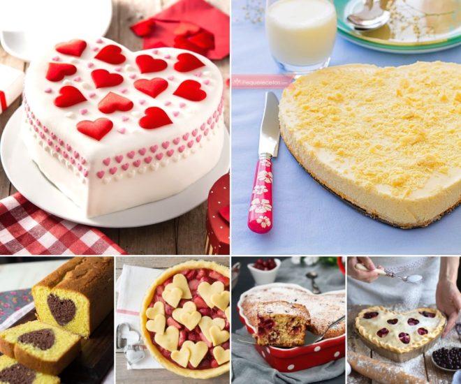 Tartas para San Valentín