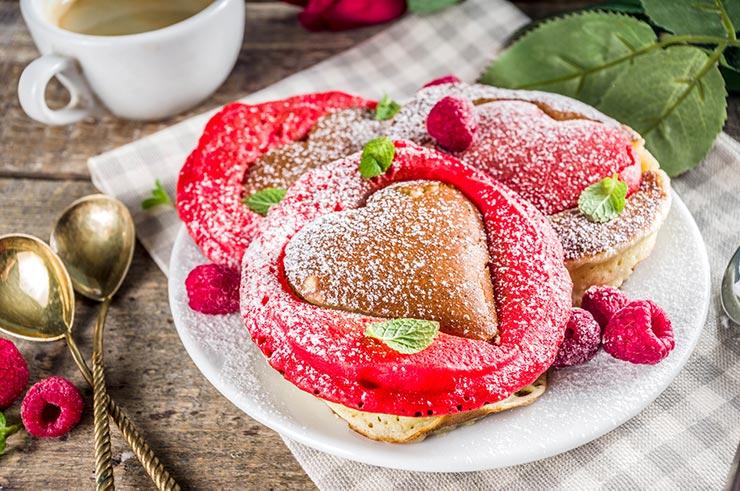 Recetas románticas para san valentin