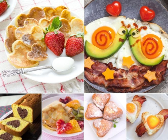 desayunos romanticos san valentin