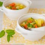 Porrusalda (receta de sopa de puerros tradicional)