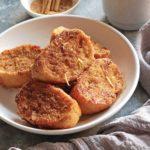 torrijas veganas sin huevo y sin leche