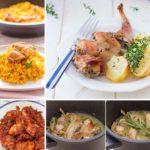 7 recetas con conejo FÁCILES (ligeras y muy sanas)
