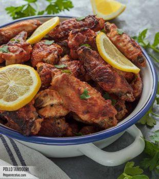 pollo tandoori receta