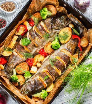 Trucha con patatas