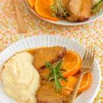 Lomo a la naranja (receta FÁCIL de lomo de cerdo en salsa)