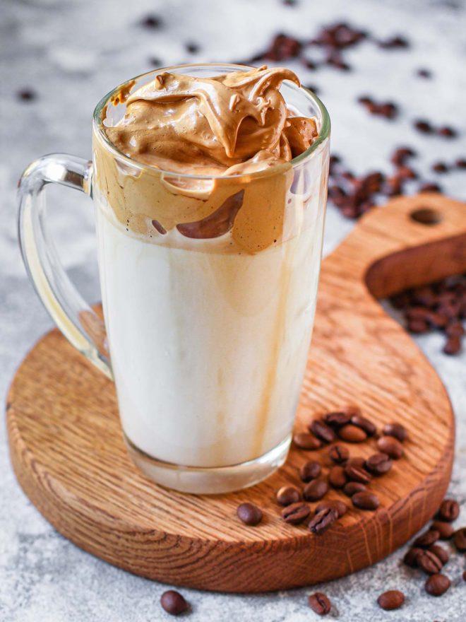 Receta de café dalgona