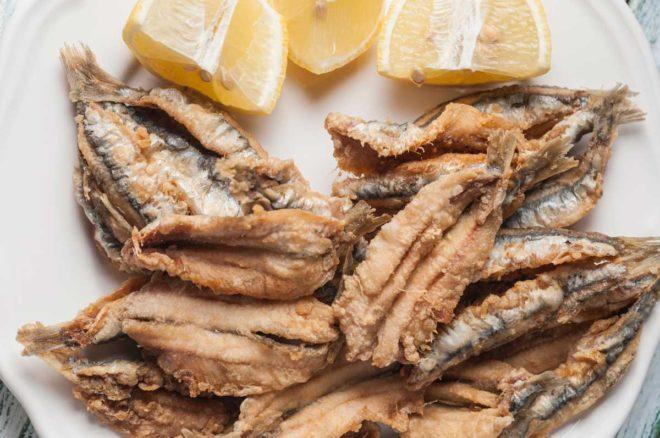 boquerones al limón receta