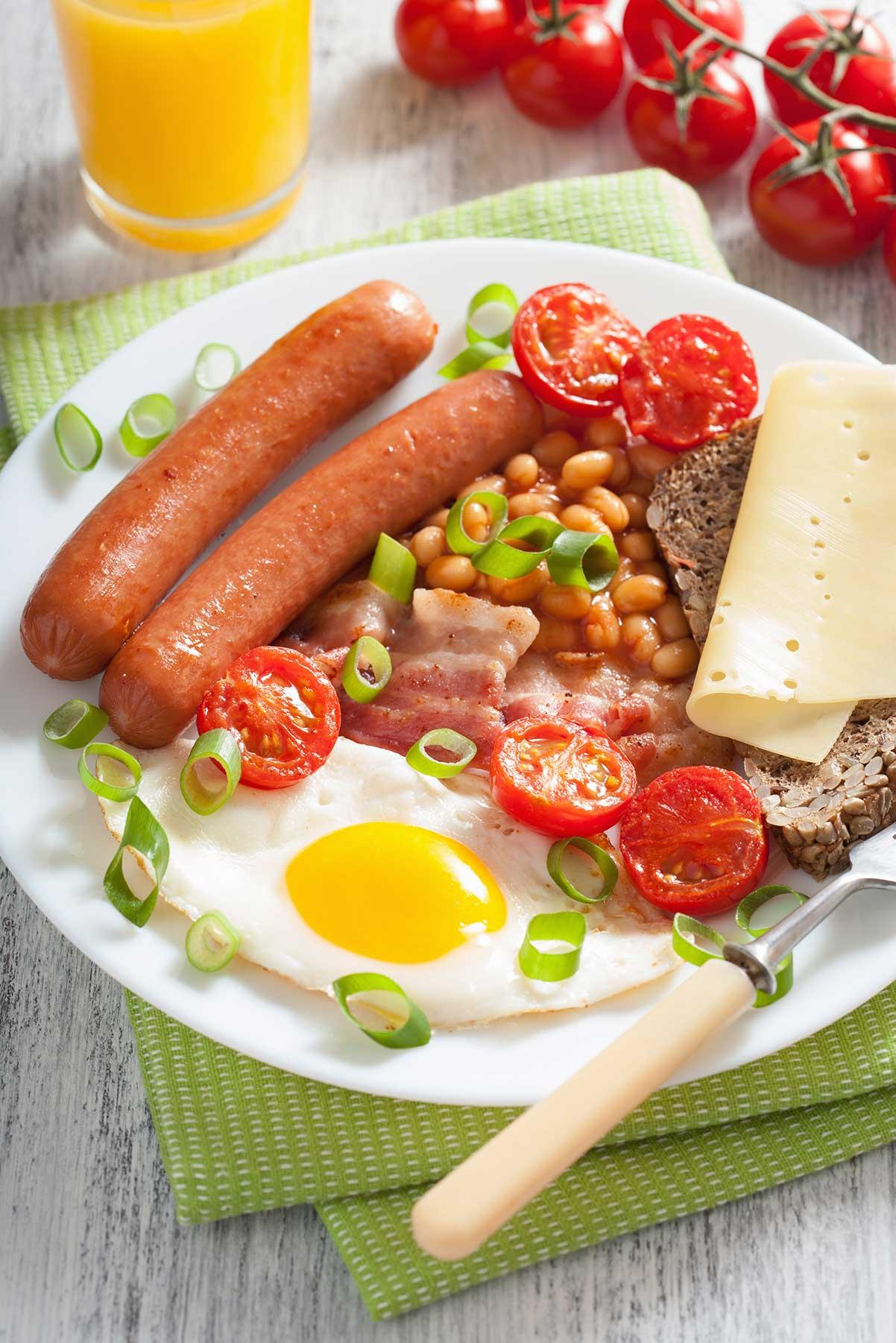 Desayuno con huevos