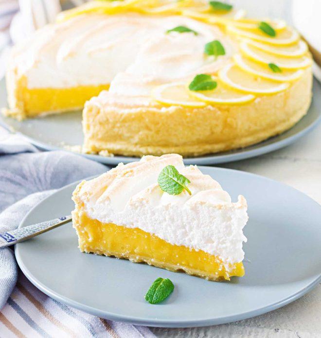 Lemon pie receta tarta de limon con merengue