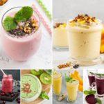 15 recetas para hacer SMOOTHIES saludables