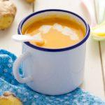 Crema de zanahoria con jengibre y cúrcuma