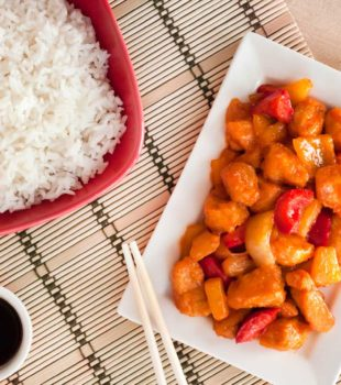 pollo agridulce chino receta