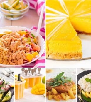 Recetas fáciles con mango
