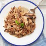 Setas al Cabrales o con salsa Roquefort (receta fácil)